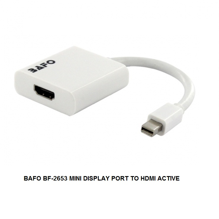 BAFO BF-2653 MINI DISPLAY PORT TO HDMI ACTIVE