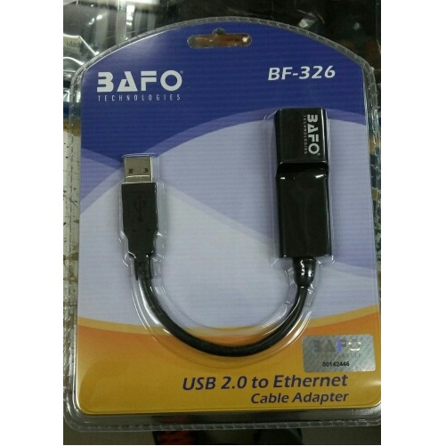 BAFO BF-326 USB 2.0 TO ETHERNET RJ45 10/100