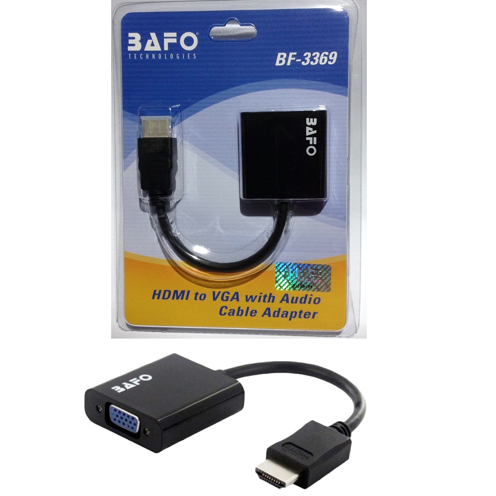 BAFO BF-3369 HDMI to VGA with AUDIO