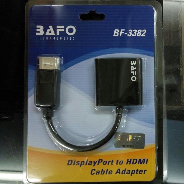 BAFO BF-3382 DISPLAY PORT TO HDMI
