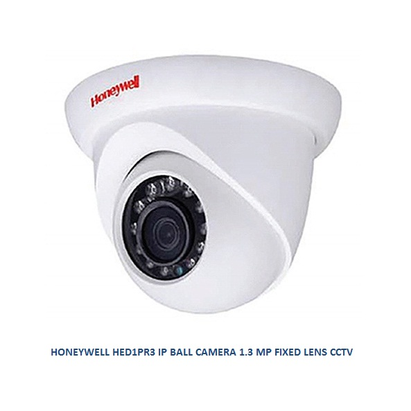 HONEYWELL HED1PR3 IP BALL CAMERA 1.3 MP FIXED LENS CCTV