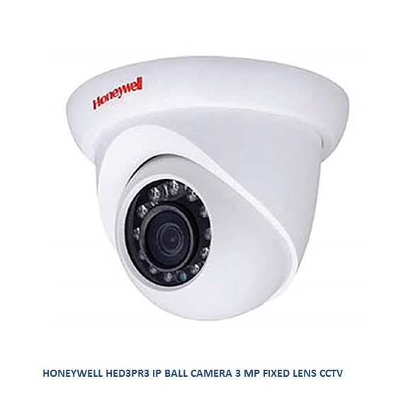 HONEYWELL HED3PR3 IP BALL CAMERA 3 MP FIXED LENS CCTV