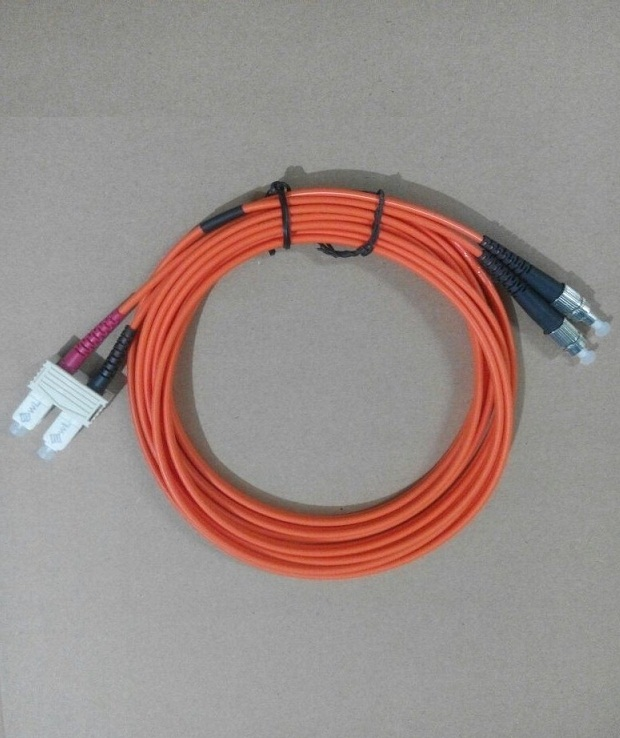 KABEL FIBER OPTIC MULTIMODE DUPLEX FC-SC