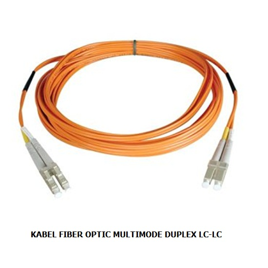 KABEL FIBER OPTIC MULTIMODE DUPLEX LC-LC