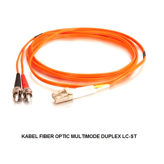 KABEL FIBER OPTIC MULTIMODE DUPLEX LC-ST