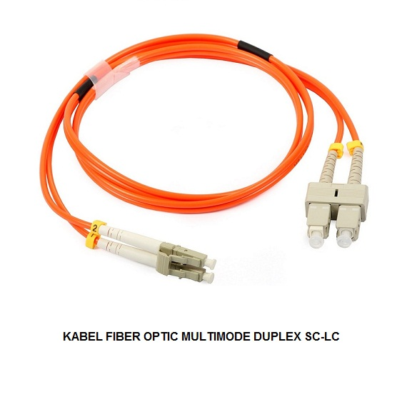 KABEL FIBER OPTIC MULTIMODE DUPLEX SC-LC
