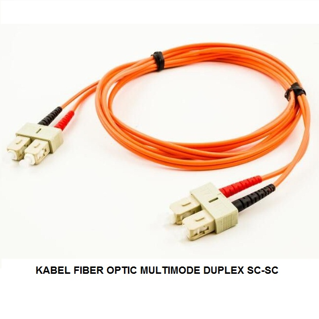 KABEL FIBER OPTIC MULTIMODE DUPLEX SC-SC