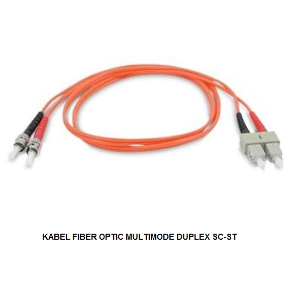 KABEL FIBER OPTIC MULTIMODE DUPLEX SC-ST