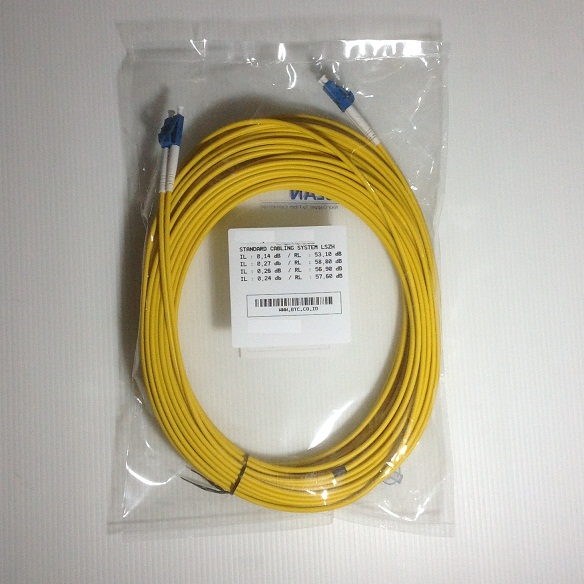 KABEL FIBER OPTIC SINGLEMODE DUPLEX LC-LC