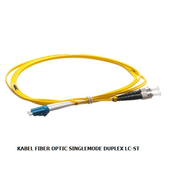 KABEL FIBER OPTIC SINGLEMODE DUPLEX LC-ST