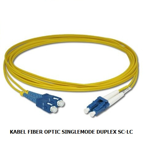 KABEL FIBER OPTIC SINGLEMODE DUPLEX SC-LC
