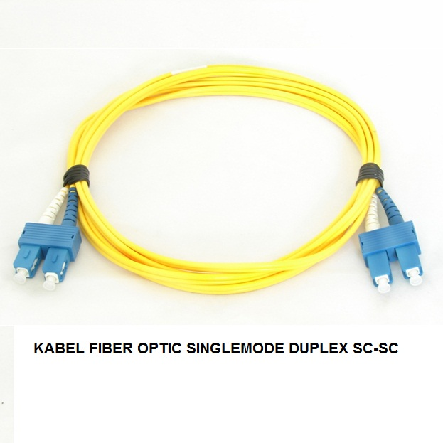KABEL FIBER OPTIC SINGLEMODE DUPLEX SC-SC