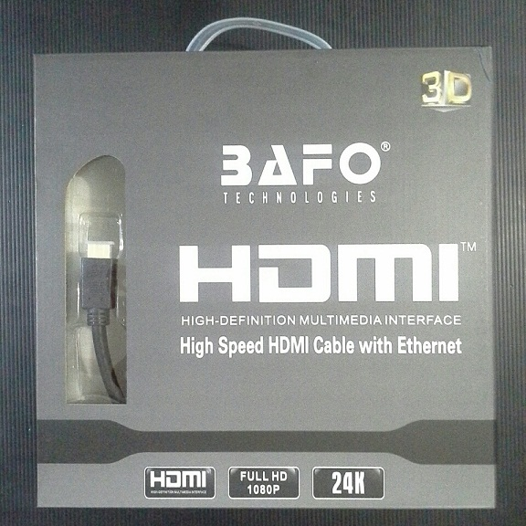 KABEL HDMI BAFO HIGH SPEED WITH ETHERNET
