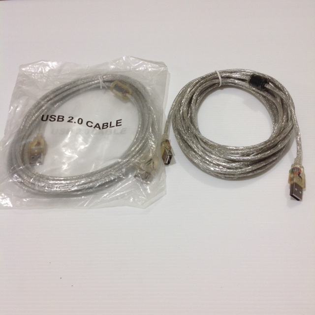 KABEL USB2.0 EXTENSION Male Female 5M
