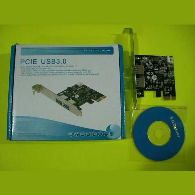 USB3.0 CARD PCI-E 2 PORT