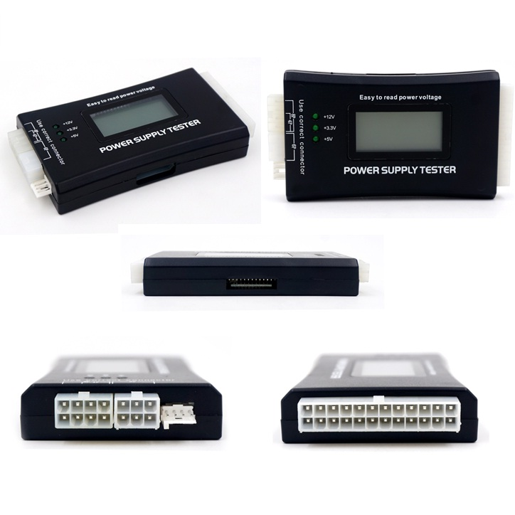 POWER SUPPLY TESTER DIGITAL 20 / 24 PIN