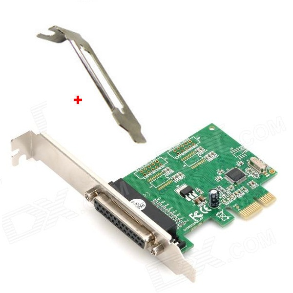 Printer paralel EPP I/O card PCI-E w MINI BRACKET