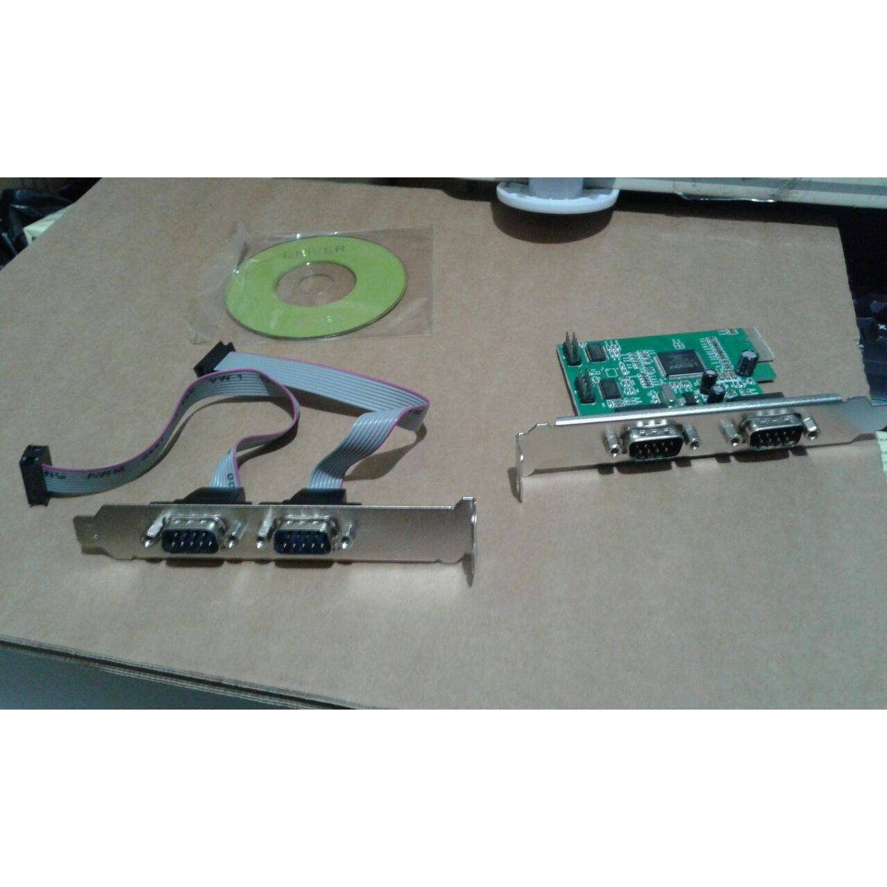 SERIAL 4 port PCI-E (RS232 4port 9p M)