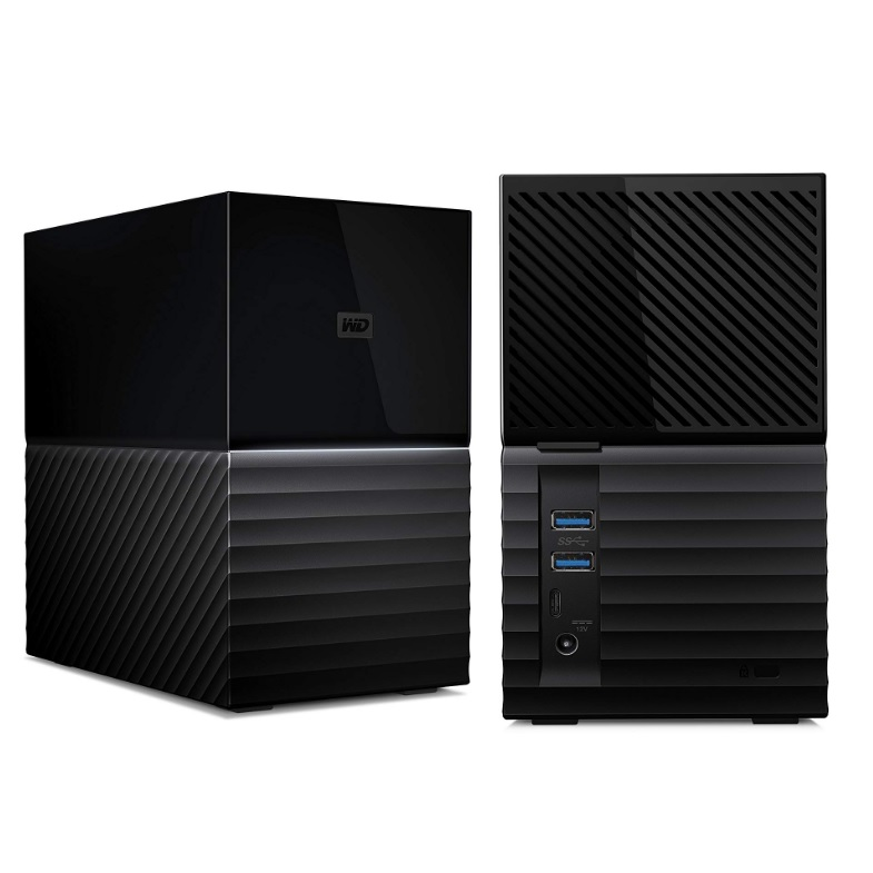 WD MY BOOK DUO 8 TB EXTERNAL USB 3.1 RAID HARDDISK